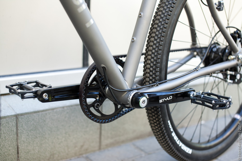 Triton Gordey 20 Bike Weight 7 4 Kg Frame Only 816 Gr Fork 404 Ti Handlebar 130 We Very Thin Walled Tubing For The